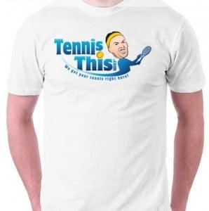 Free tennis shirt