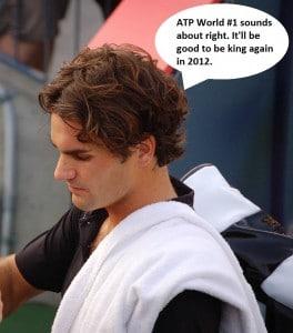 Roger Federer 2012 #1 bid in 2012