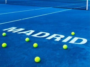 2012 madrid mutua open tennis tournament blue clay court tennis