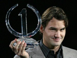 Roger Federer #1 287 weeks at #1