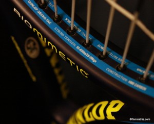Dunlop Biomimetic 200 Lite recommended tennis string tension