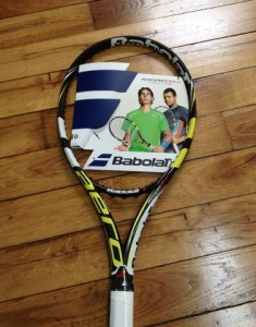 2013 Babolat AeroPro Drive tennis racquet rafael nadal