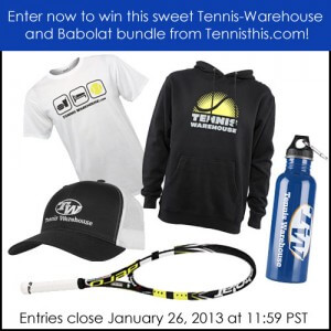 2013 Australian Open racquet giveaway for men