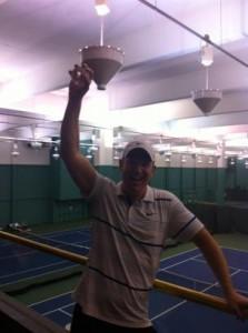 San Francisco tennis l-tec user greg duncan