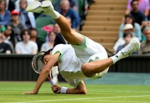 Sergiy Stakhovsky beat Roger Federer at 2013 wimbledon second round