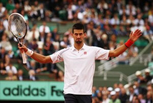 djokovic french open semifinal confidence