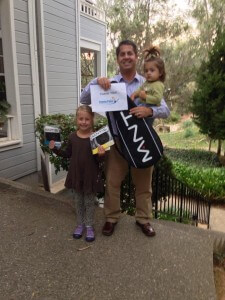 2013 US Open Giveaway Winner with his prizes!