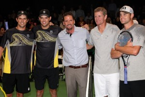 Bryan Brothers Charity event with Andy Roddick