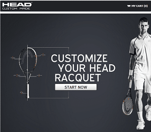 Head Tennis custom tennis racquets