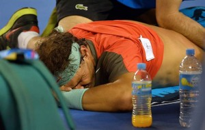 Wawrinka AO win being tainted by rafael nadal?