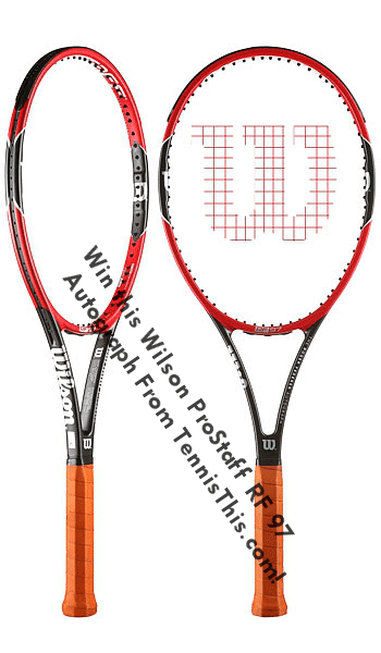 4cac2fc21 Enter for your chance to win a Wilson ProStaff RF 97 Autograph