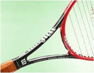 Roger Federer Autograph tennis racket