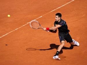 Novak Djokovic (SRB) def. Victor Hanescu (ROU)Roland Garros 2011 - mercredi 25 mai - 2ème tour - Court Philippe Chatrier