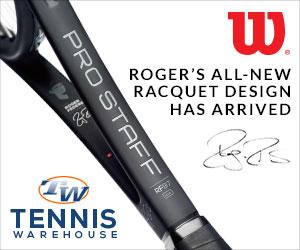 2016 wilson prostaff roger federer autograph tennis racquet