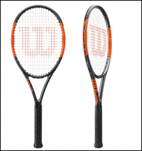 2017 Wilson Burn Racket with Countervail technology