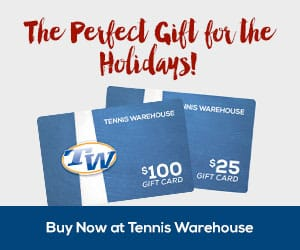 2016 tennis gift cards