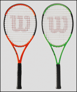 Limited Edition Wilson Burn & Blade tennis racquet