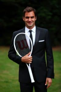 Roger Federer limited edition wilson pro staff tennis racket