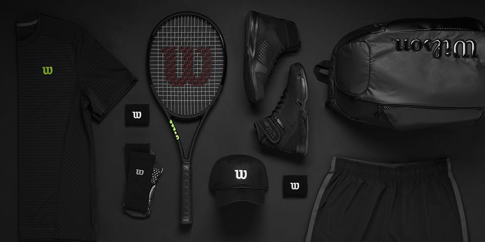 2018 wilson tennis black edition tennis equipment