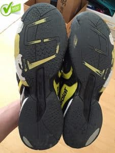 babolat tennis shoe warranty examples