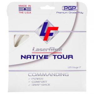 laserfirbre native tour tennis string review