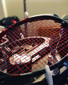 tier one firewire 17 tennis string review red