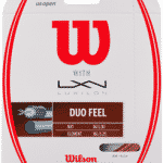 Wilson + Luxilon Dio Feel hybrid tennis string