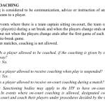 US Open Women's Final Incident Coaching Rule