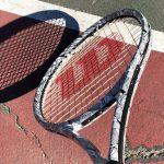 new wilson clash tennis racquet