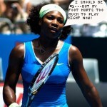 Serena Williams out from tennis.