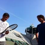 Rafael Nadal's possible new tennis racquet 2012