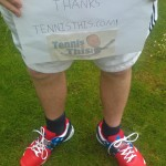 Babolat Stars and Stripes Propulse 3 shoe giveaway winner from the U.K.