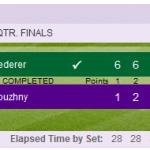 Roger Federer Mikhail Youzhny quarterfinal result