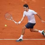 Roger Federer 2013 french open loser