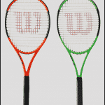 Wilson Limited Edition Blade & Burn tennis racquet
