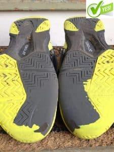 yonex tennis shoe warranty claim