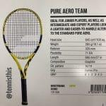 2018 Babolat Pure Aero tennis racquet picture