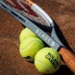 2020 Roland Garros Wilson Blade 98 tennis racquet